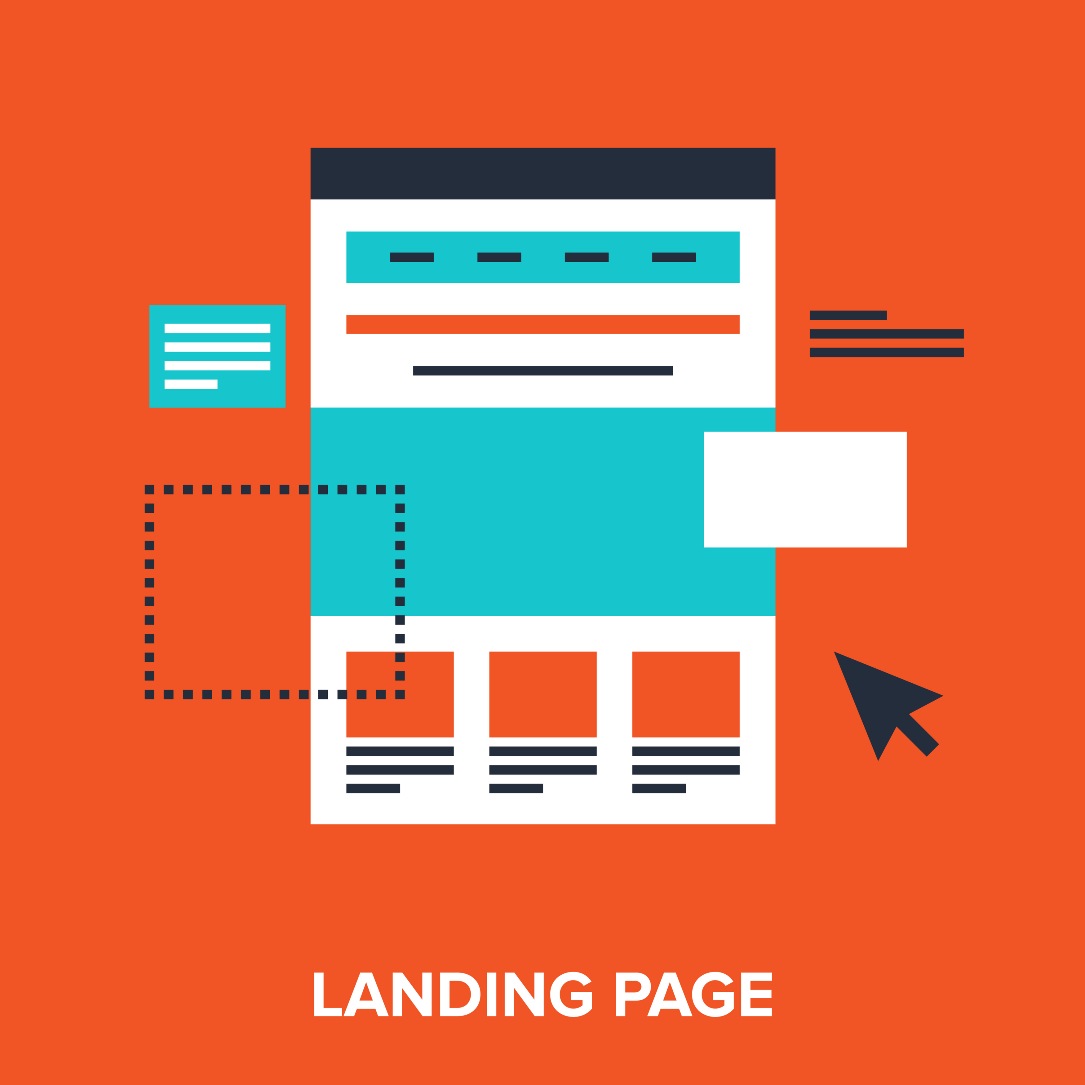 Landing Page Graphic