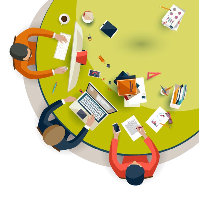 Circle Team Strategy